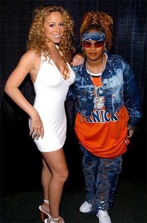 Mariah Carey ve çok yakın dostu, aynı zamanda şarkı sözlerini yazmasına da yardım eden Da Brat.